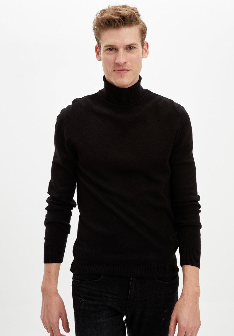 DeFacto - Strikpullover /Striktrøjer - black