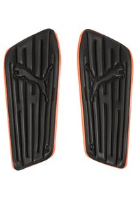 Puma - ONE - Shin pads - black energy red/white
