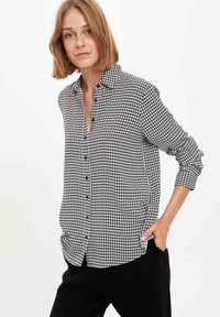DeFacto - Button-down blouse - ecru - 4