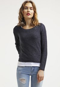 ONLY - ONLGEENA - Sweter - navy blazer - 0