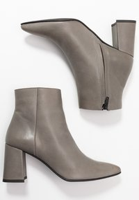 Zign - Kotníková obuv - dark gray - 3