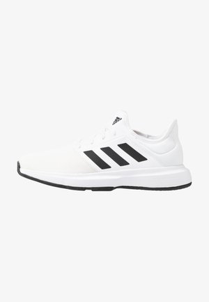 GAMECOURT BARRICADE CLOUDFOAM TENNIS SHOES - Tennissko til multicourt - footwear white/core black/grey one