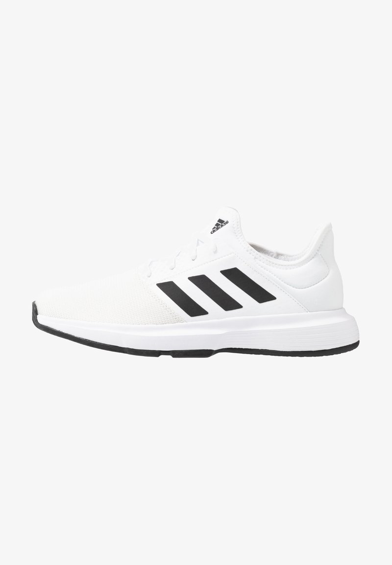adidas Performance - GAMECOURT BARRICADE CLOUDFOAM TENNIS SHOES - Zapatillas de tenis para todas las superficies - footwear white/core black/grey one