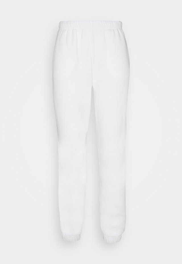 BASIC  - Tracksuit bottoms - offwhite