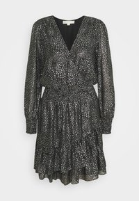 MICHAEL Michael Kors - SPACED GALAXY  - Cocktail dress / Party dress - black / silver - 5