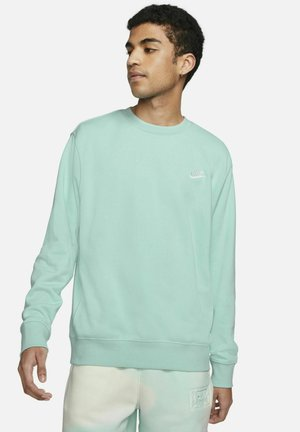 CLUB - Sweatshirt - light dew/white