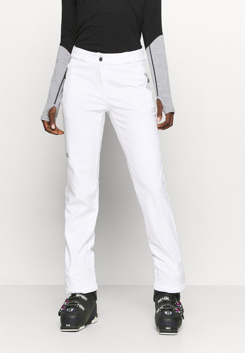 Ziener - TALPA LADY - Spodnie narciarskie - white