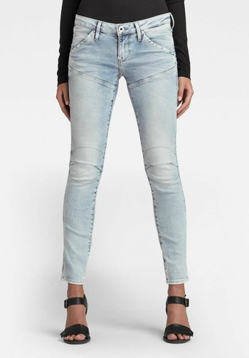Slim fit jeans - lt aged