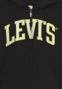 Levi's® - STRIPED FULL ZIP HOOD - Sweatjacke - black - 4