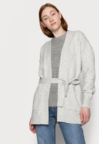 Gap Tall - BELTED OPEN SUPER PLUSH - Cardigan - grey - 3