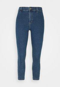 Topshop Petite - Jeans Skinny Fit - dark blue denim - 0