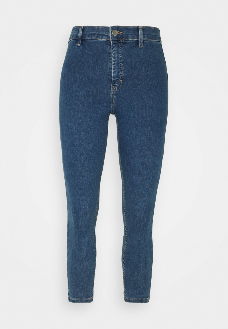 Topshop Petite - Jeans Skinny Fit - dark blue denim