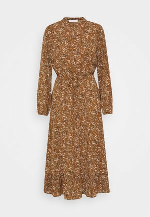 ONLLIMA DRESS - Shirt dress - rust