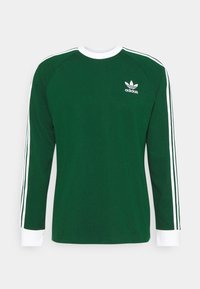 adidas Originals - 3 STRIPES UNISEX - Long sleeved top - dark green - 0