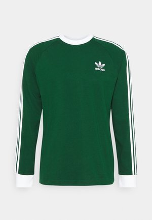 3 STRIPES UNISEX - Camiseta de manga larga - dark green