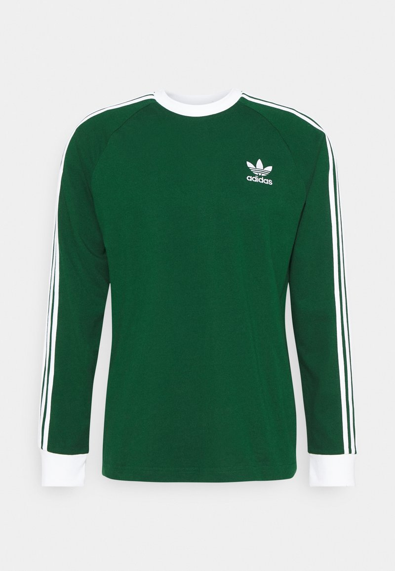 adidas Originals - 3 STRIPES UNISEX - Long sleeved top - dark green