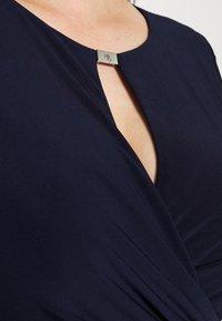 Lauren Ralph Lauren Woman - CARLONDA LONG SLEEVE DAY DRESS - Tubino - lighthouse navy - 4