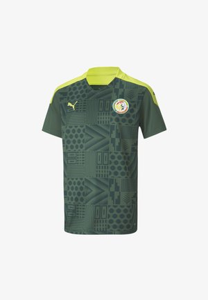 SENEGAL AWAY  - Print T-shirt - dark green-limepunch