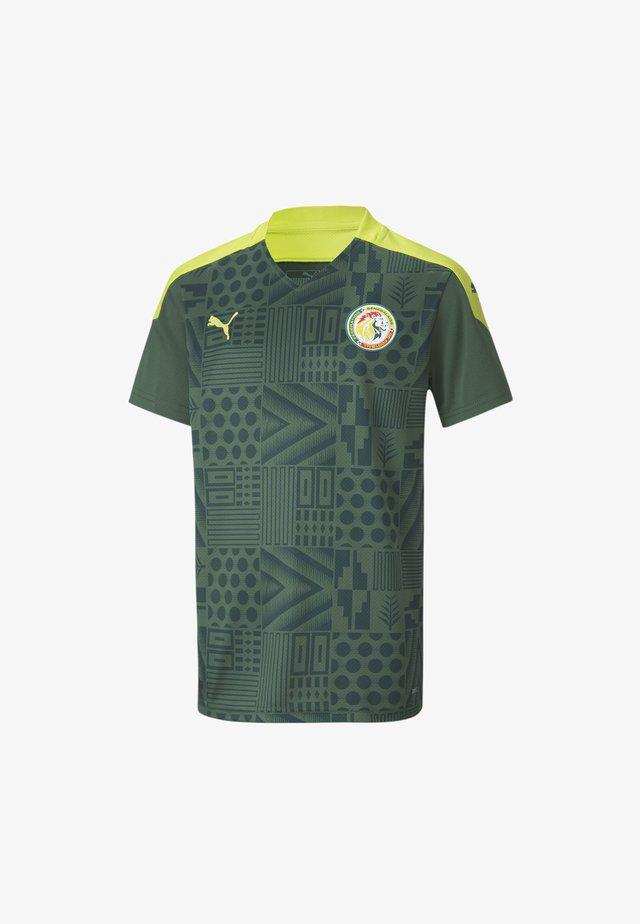 SENEGAL AWAY  - Print T-shirt - dark green-limepunch