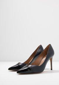 Pura Lopez - High heels - navy blue/nero - 4