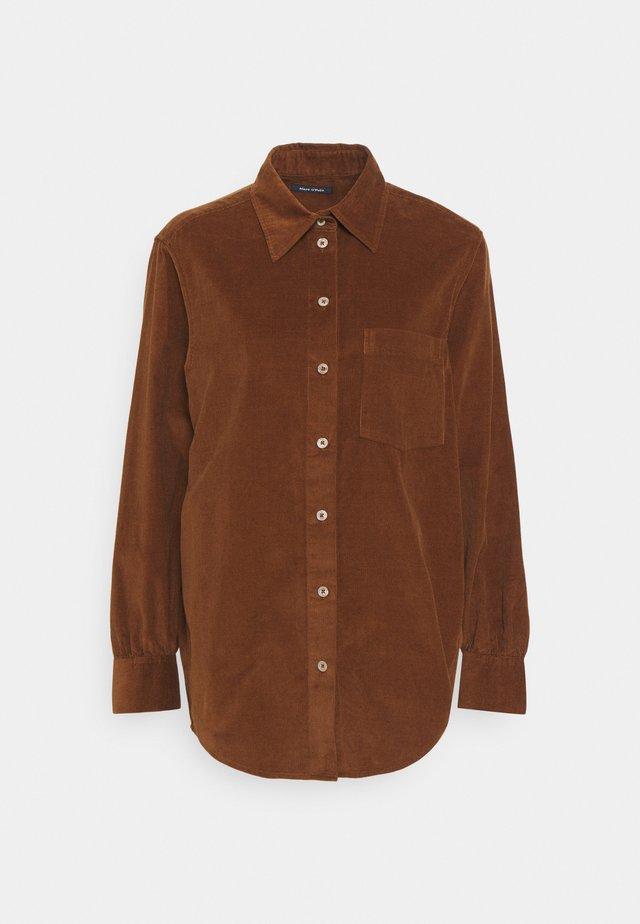 Koszula - toffee brown