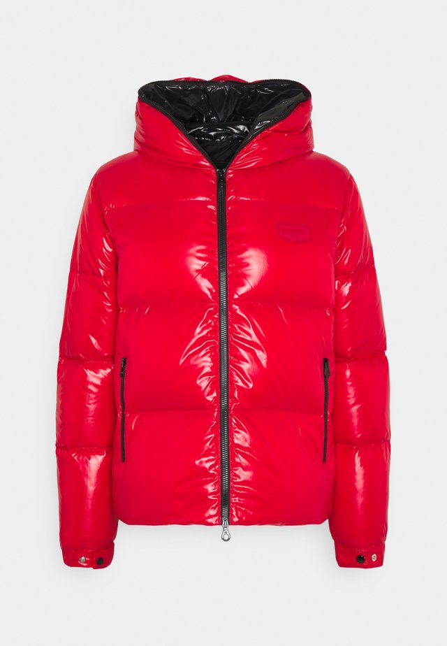 AUVATRE - Down jacket - rosso cinese