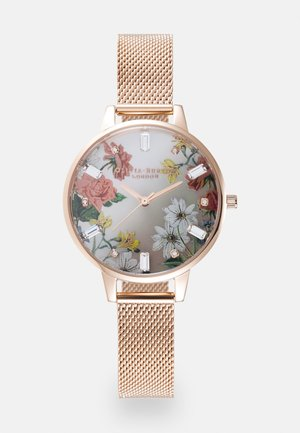 SPARKLE FLORAL - Zegarek - roségold-coloured
