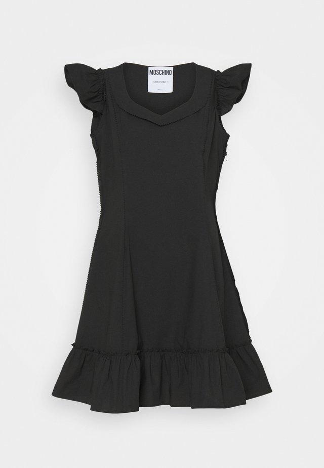 DRESS - Korte jurk - black