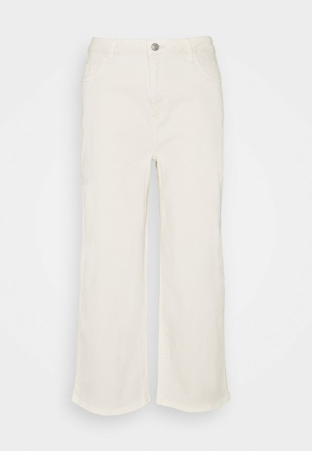 WIDE LEG - Jeans baggy - off-white