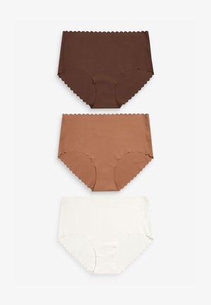 THREE PACK - Slip - nude