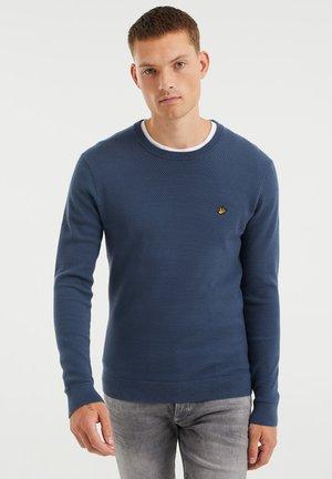 MET STRUCTUUR - Trui - greyish blue