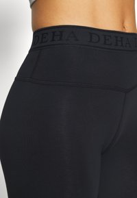 Deha - LEGGINGS - Legging - black - 4