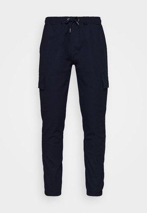 CARTEL - Pantalones cargo - navy