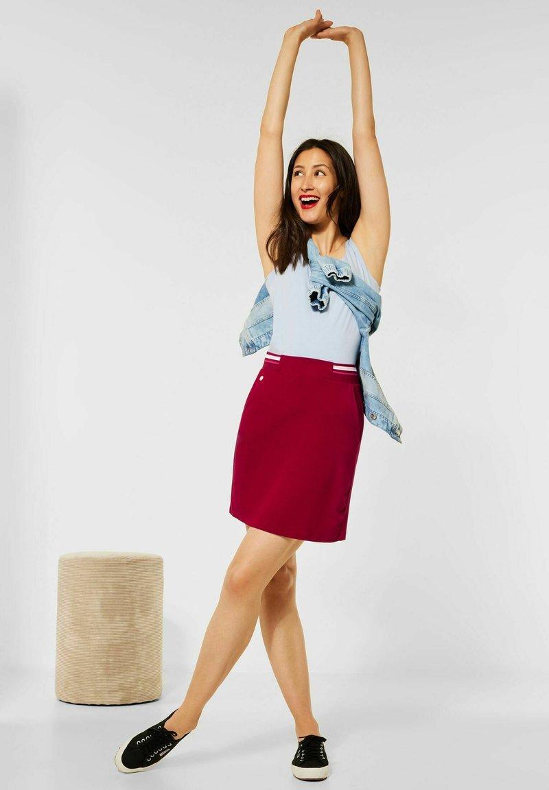 Street One - Pencil skirt - rot