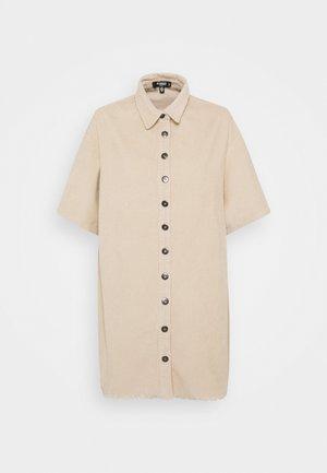 Košilové šaty - sand
