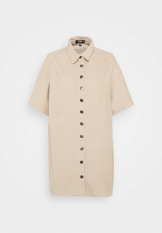 Sukienka koszulowa - sand