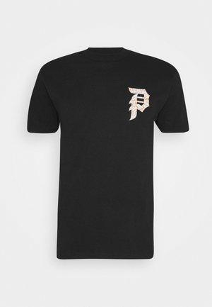NARUTO DIRTY TEE - Print T-shirt - black