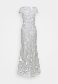 Adrianna Papell - SEQUIN EMBROIDERY MERMAID GOWN - Iltapuku - silver dove - 1