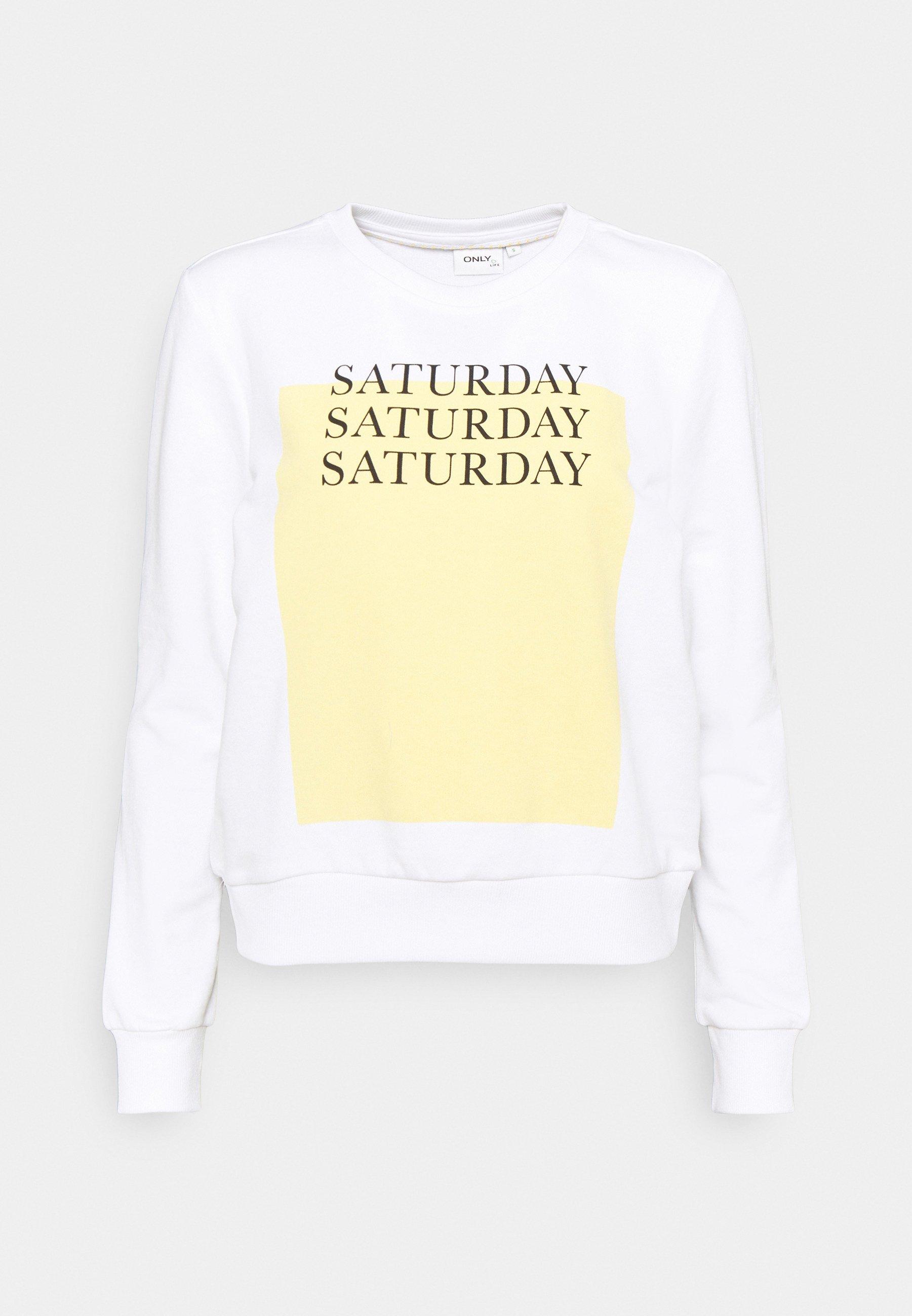 Women ONLWEEKDAY LIFE ONECK - Sweatshirt