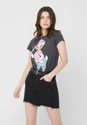 DAISY - Print T-shirt - dark grey
