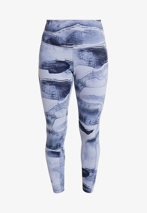LUX BOLD HIGH RISE - Leggings - blue