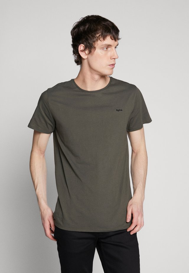 HEIN - Basic T-shirt - military green