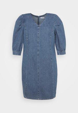 CARLURSA LIFE TUNIC DRESS - Dongerikjole - medium blue denim
