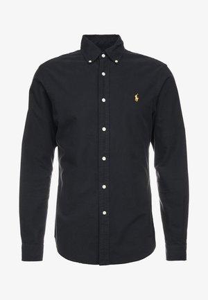 OXFORD SLIM FIT - Camicia - black