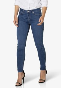 Yest - JOY - Slim fit jeans - mid blue - 0