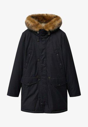 Wintermantel - zwart