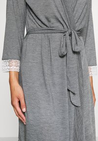 Etam - WARM DAY DESHABILLE - Dressing gown - gris - 4