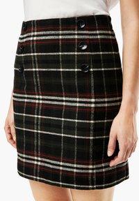 s.Oliver - A-line skirt - khaki check - 4