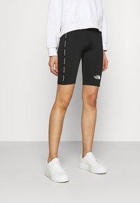The North Face - TIGHT - Shorts - black - 0