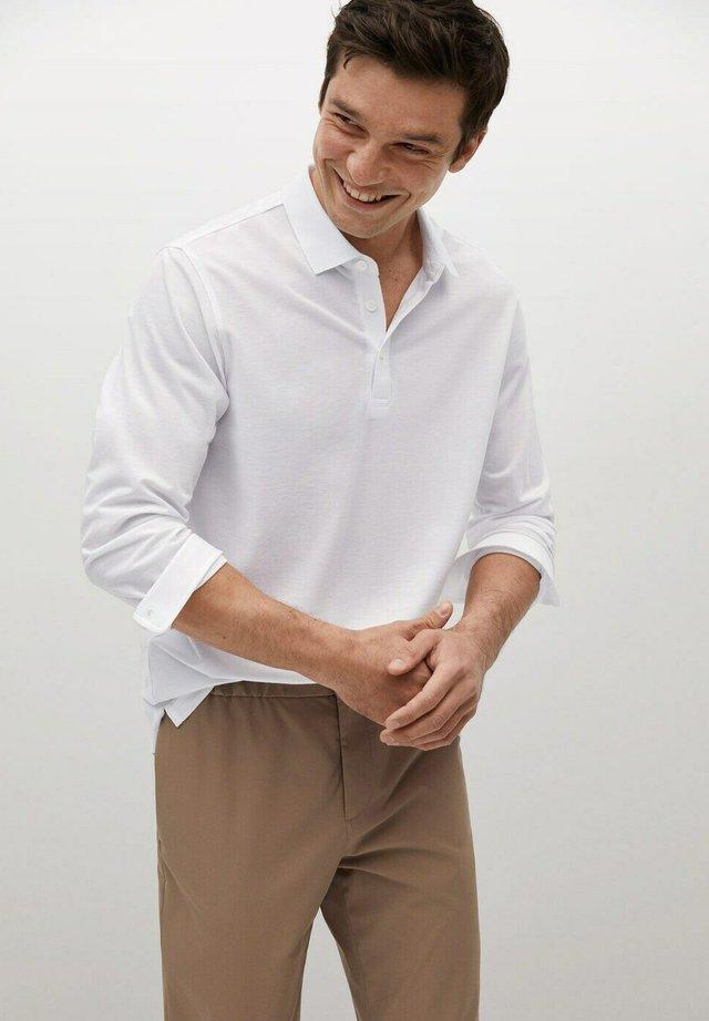 KANSAS - Poloskjorter - weiß